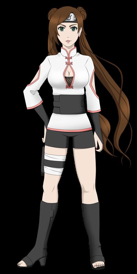 Naruto OC - Okazaki Umeko (remake)