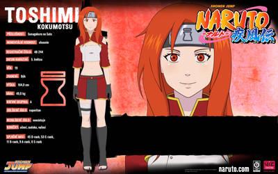 Toshimi Kokumotsu - Character Sheet (Chuunin)