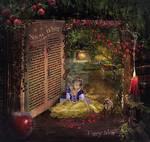 Snow White magical book