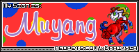 I'm a Muyang! What are you? find out on Draikyla's page!