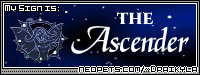 I'm the Ascender! What are you? find out on Draikyla's page!