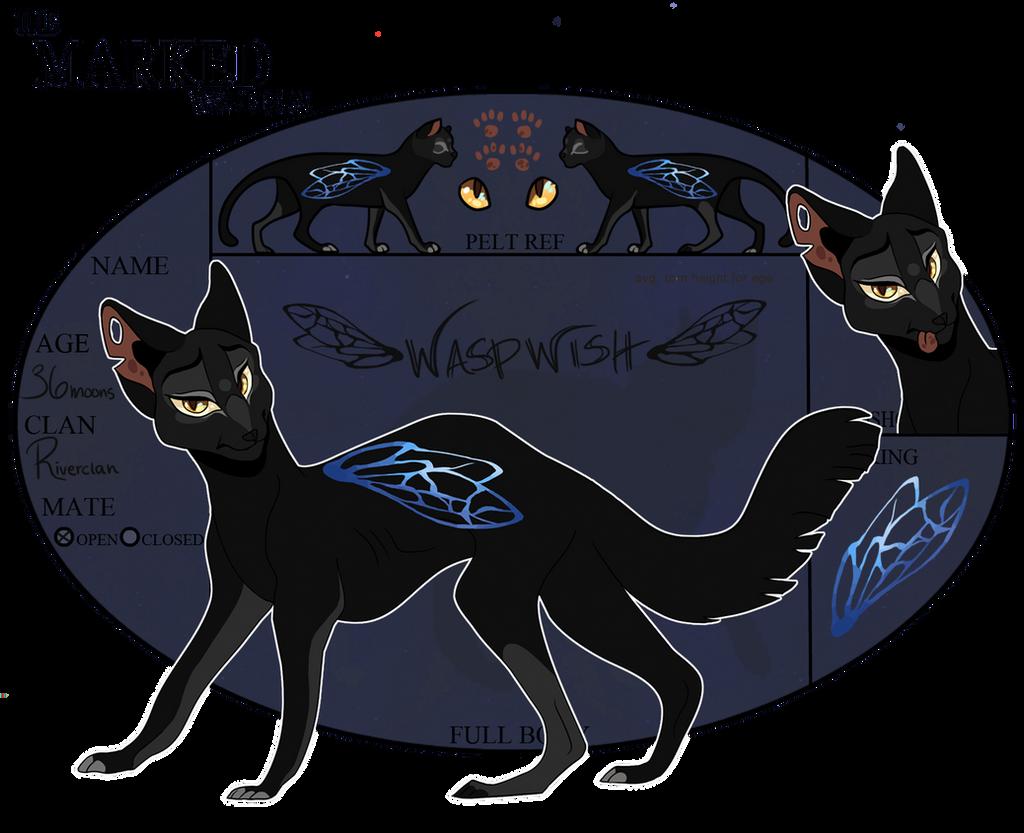 TMW - Waspwish - Medicine Cat - Riverclan by ohsh
