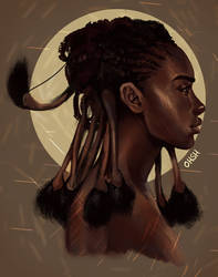Himba Woman by ohsh