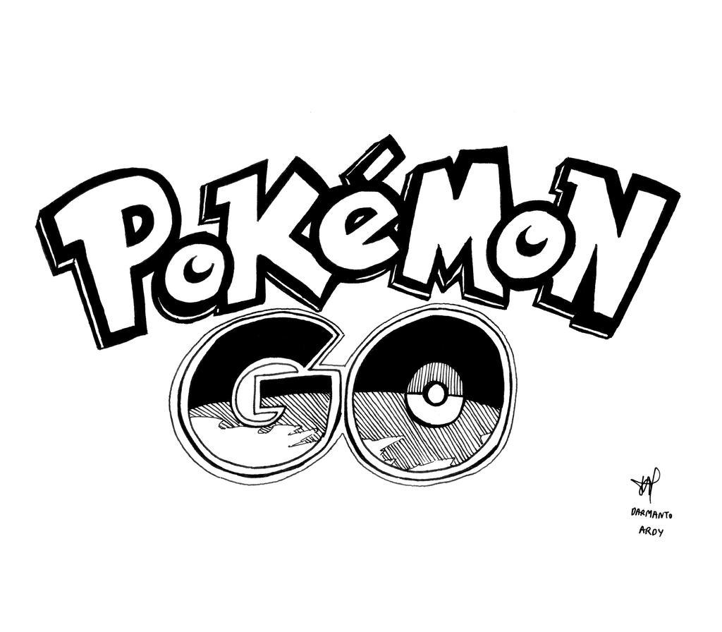 how to draw pokemon logo