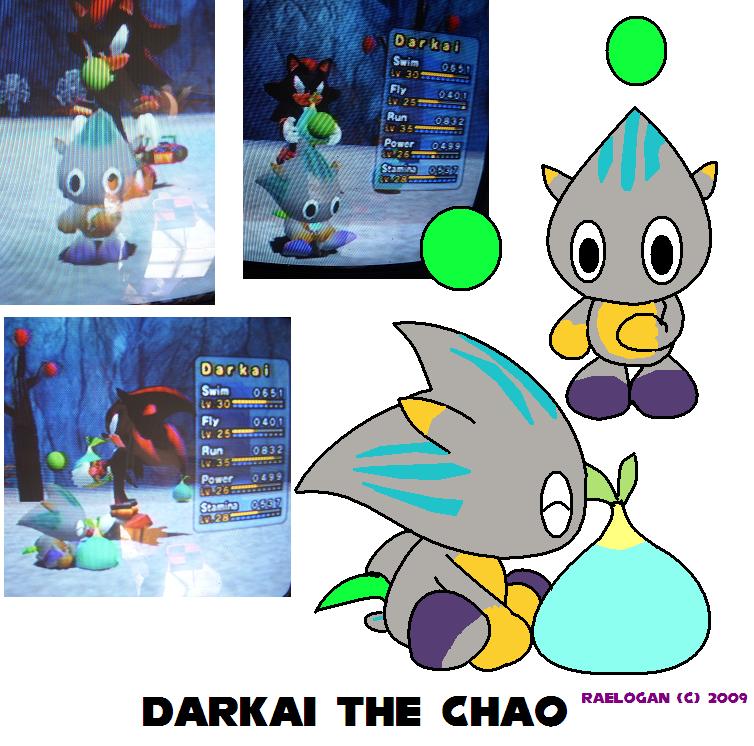 Darkai The Chao By Raelogan On Deviantart