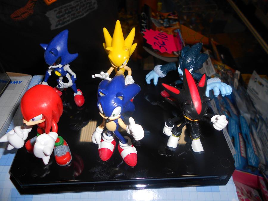 Target Sonic Toys : New sonic gacha figures by raelogan on deviantart