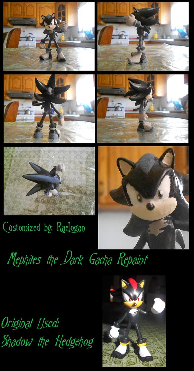 Mephiles The Dark Gacha Custom by RaeLogan