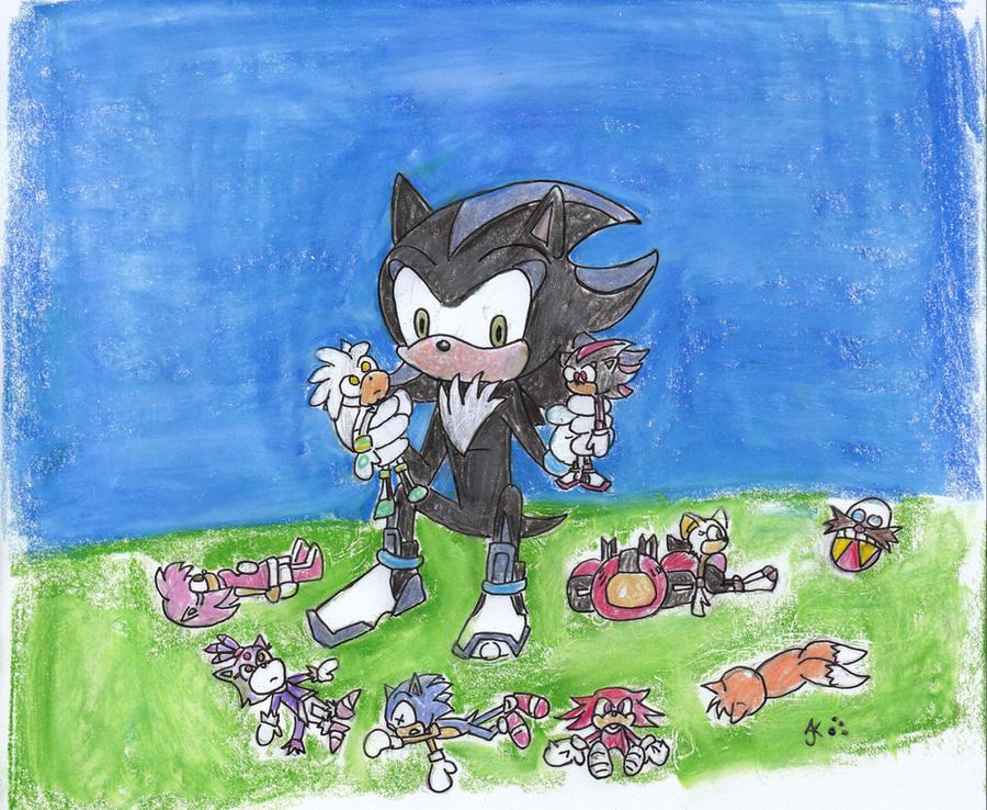 Sonic Next Gen 5 AÑOS por RaeLogan