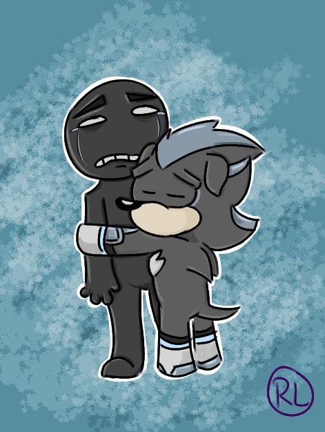 -Anon Hugs- by RaeLogan