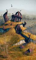 An ancient ruins by AlexeyRudikov