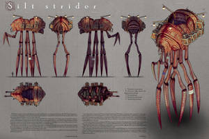 Silt strider. Basic scheme by AlexeyRudikov
