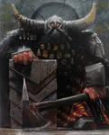 A noble dwarf (oil copy)