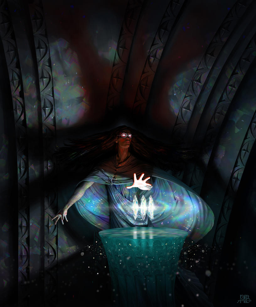 The shadow of Morgoth by AlexeyRudikov