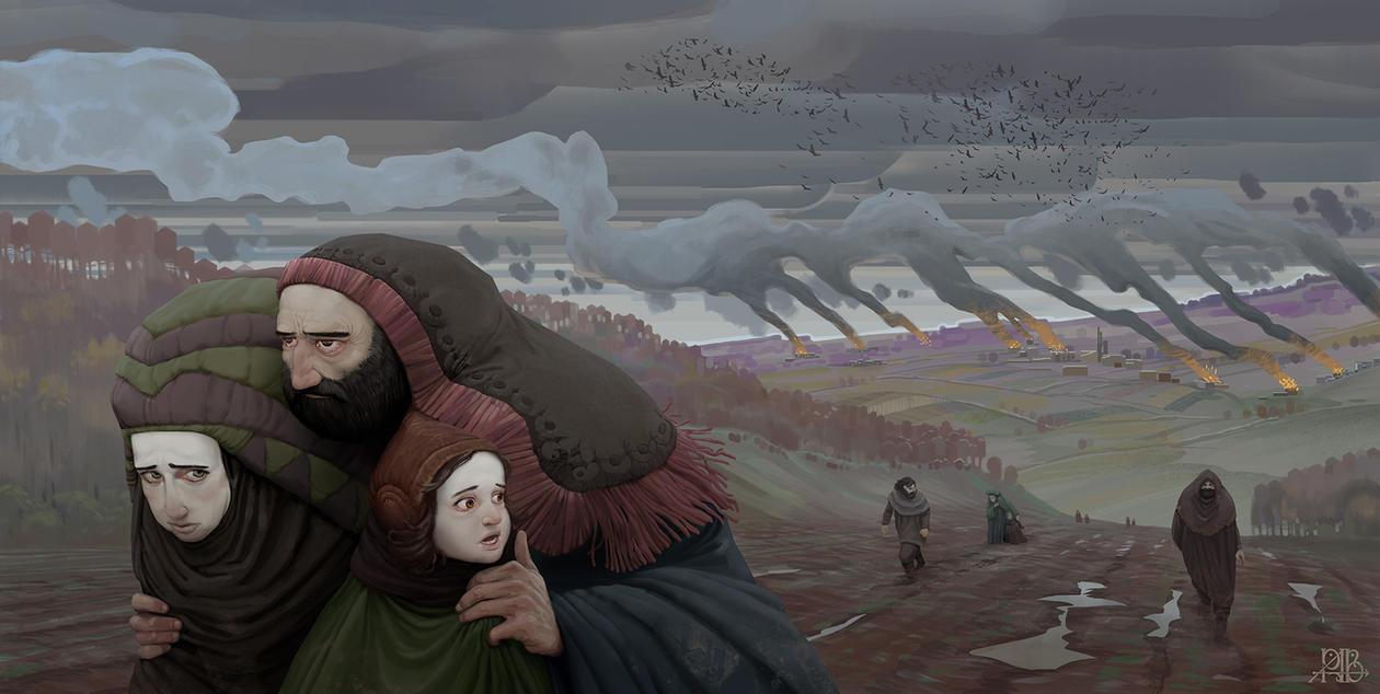 Refugees by AlexeyRudikov