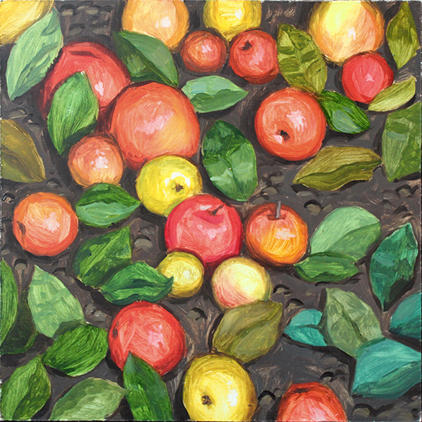 Background. Apples by AlexeyRudikov