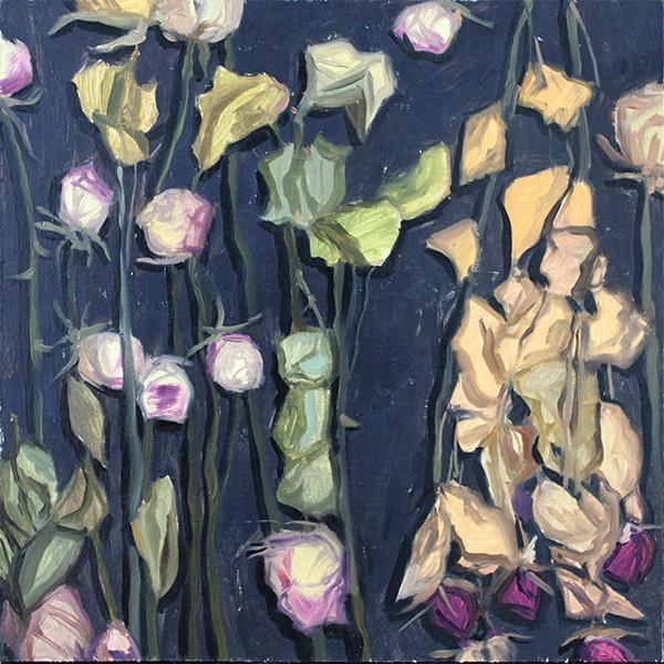 Background. Dried roses by AlexeyRudikov
