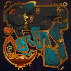 The genie by AlexeyRudikov