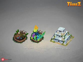 Game buildings 13 by AlexeyRudikov