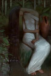 Her grief by AlexeyRudikov