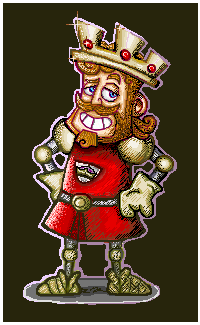 King Arthur by Rachykins