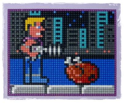 Pixelhobby Duke Nukem by Rachykins
