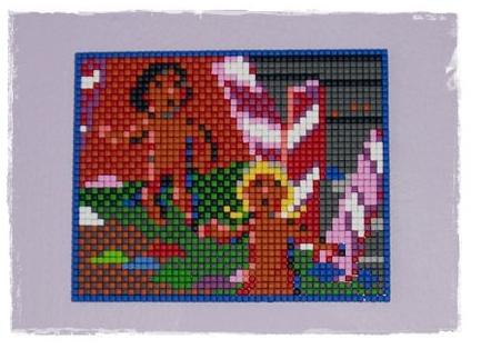 Pixelhobby Kq1 Gingerbreads by Rachykins
