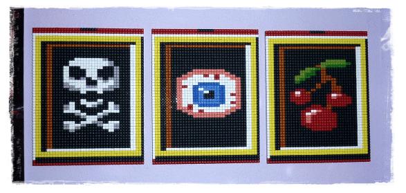 Pixelhobby Sq1 Slot Machine by Rachykins