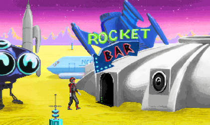 Space Quest 1 VGA Recoloured