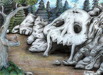Skull Cave by Rachykins
