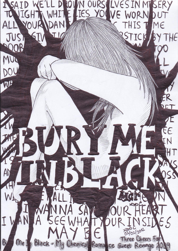 Bury Me In Black by mychelromance