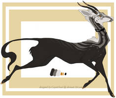 Regal Cervid [closed] by CoyoteSoot