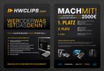 HWClips Promotion Flyer