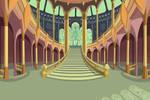 The stairs of Alfea BG
