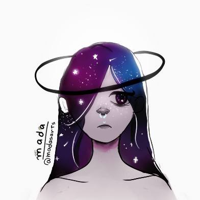 Cosmic Girl by madas-art