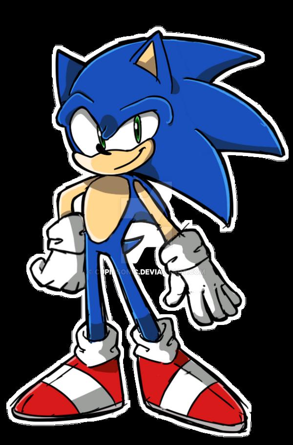 Sonic The Hedgehog Sketch Practice By Cupidsonic On Deviantart