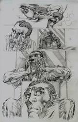 Avengers 16.1 Page 1 Pencils