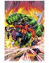 Final New Defenders 1 Alternate Cover