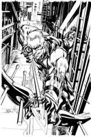 Hawkeye Alternate Cover by NealAdams