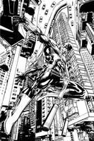 Daredevil Alternate cover by NealAdams