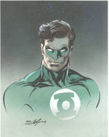 Green Lantern Drawing by NealAdams