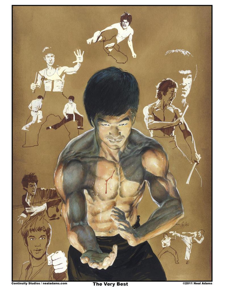 Bruce Lee by NealAdams