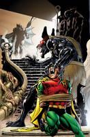 Batman 4 Cover by NealAdams