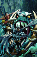 Batman cover by NealAdams