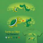 Turtle VS T-Rex VS Gamera