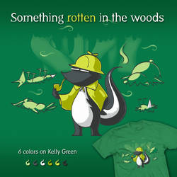 Something rotten in the woods