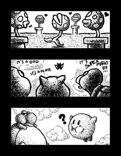 Miiverse - Mario 2 by MdMbunny