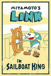 Miyamoto's Link - Poster by MdMbunny