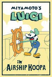Miyamoto's Luigi - Poster by MdMbunny