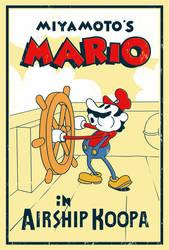 Miyamoto's Mario - Poster by MdMbunny