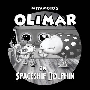Miyamoto's Olimar in Spaceship Dolphin